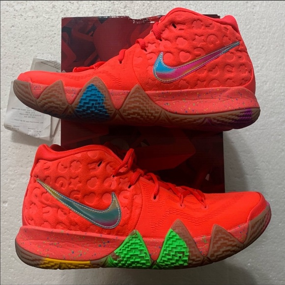 Nike Other - ❌SOLD❌Kyrie 4 Lucky Charms